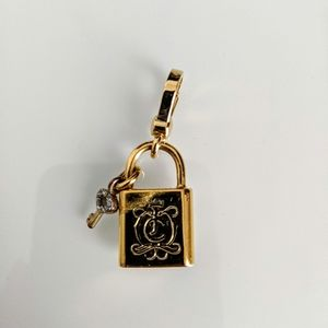 Juicy Couture Jewelry - Juicy Couture lock and key charm